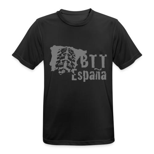 Logo BTT España - Camiseta hombre transpirable