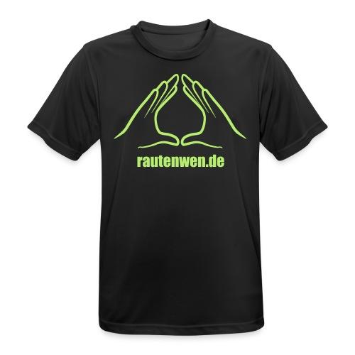 rautenwen.de - Männer T-Shirt atmungsaktiv