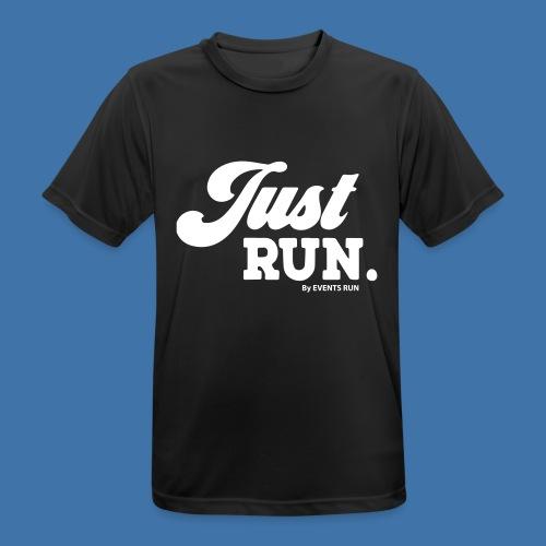 just-run - T-shirt respirant Homme
