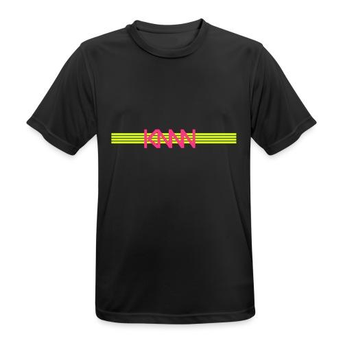 KNNN stripe-logo - Andningsaktiv T-shirt herr