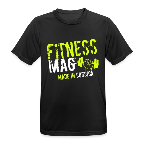 Fitness Mag made in corsica 100% Polyester - T-shirt respirant Homme