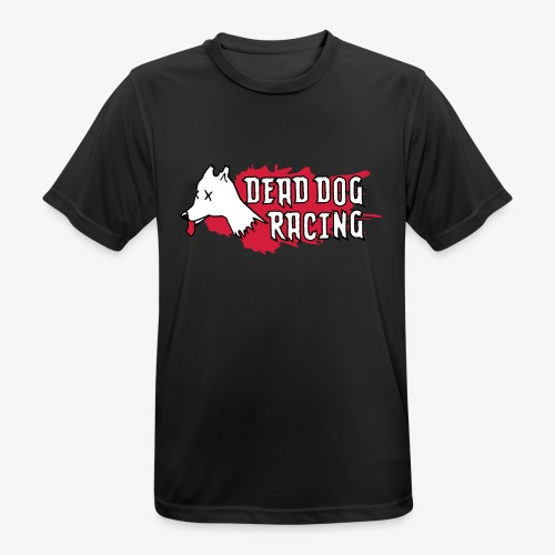 Dead dog racing logo - Men's Breathable T-Shirt