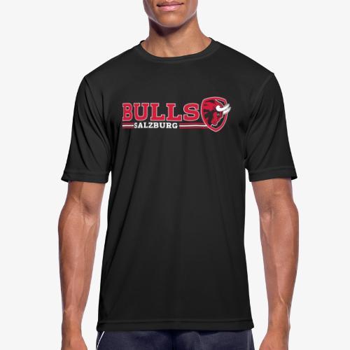 Schriftzug + Rückenbild - Männer T-Shirt atmungsaktiv