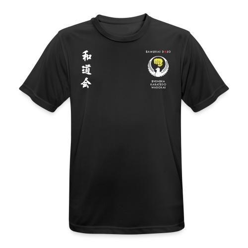 Samurai dojos klubbkläder - Andningsaktiv T-shirt herr
