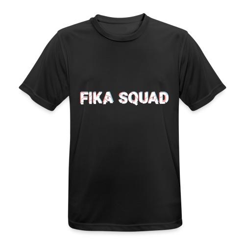 Fika Squad - Andningsaktiv T-shirt herr