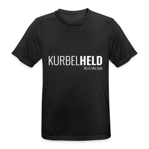 T-Shirt - KurbelHELD - Brust - Männer T-Shirt atmungsaktiv