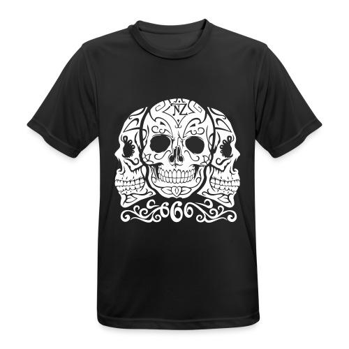 Skull Dia de los muertos - T-shirt respirant Homme