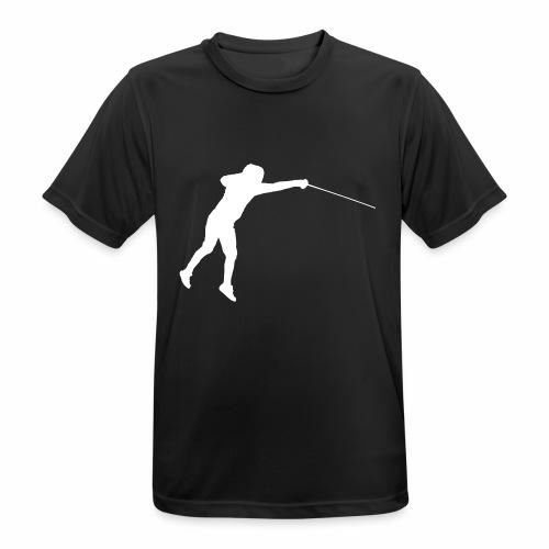 Jumping Fencer - Männer T-Shirt atmungsaktiv