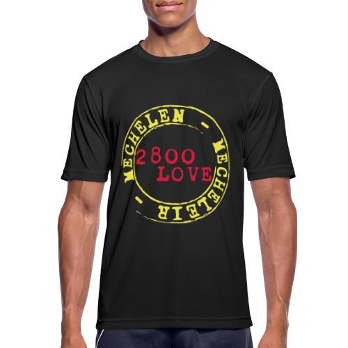 2800 Love Malinwa - Mannen T-shirt ademend