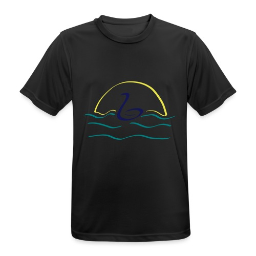 Swan - Mannen T-shirt ademend actief