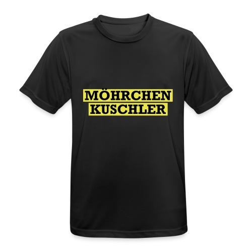 Möhrchenkuschler - Männer T-Shirt atmungsaktiv