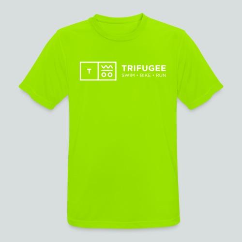 Trifugee_Logo - Männer T-Shirt atmungsaktiv
