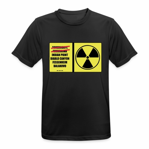 nucleaire - T-shirt respirant Homme