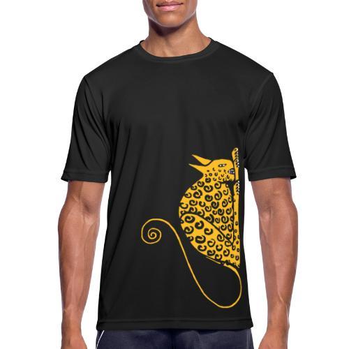 Devil Cat - Men's Breathable T-Shirt