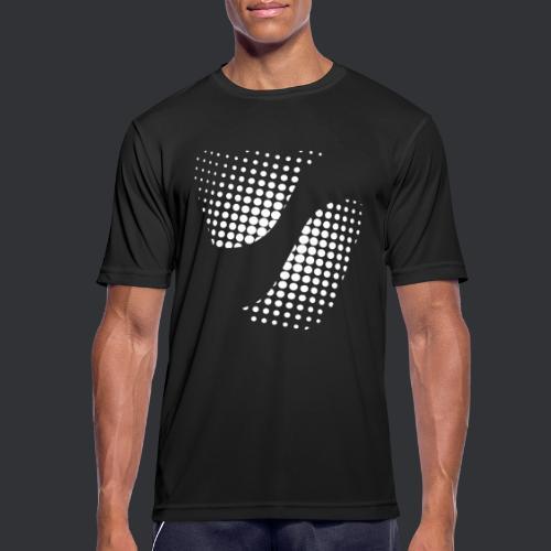 SPIKE Dots - Männer T-Shirt atmungsaktiv