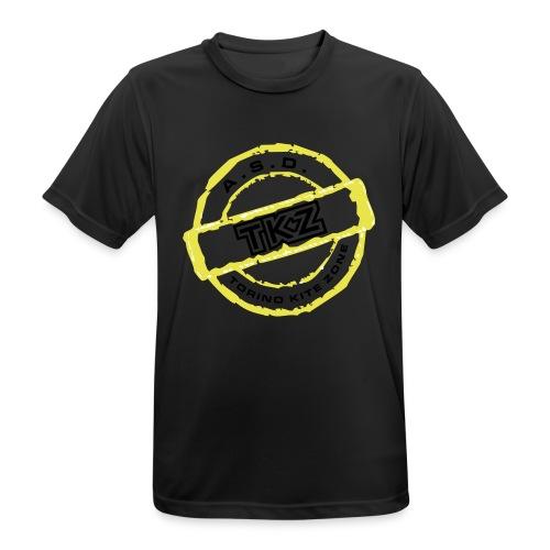 LOGO_DEFINITIVO - Maglietta da uomo traspirante