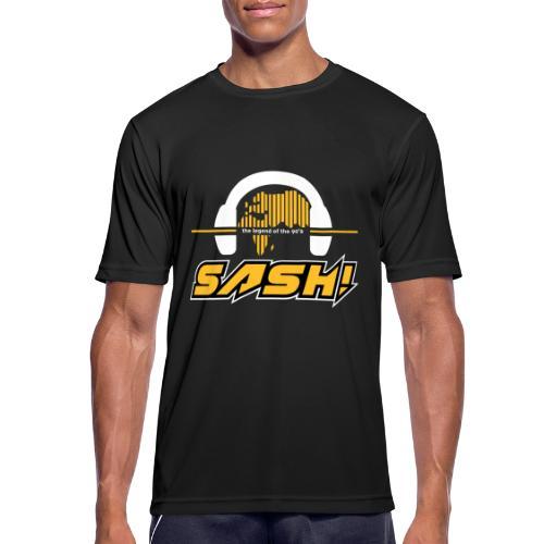 SASH! Logo 2020 Headfone - Men's Breathable T-Shirt