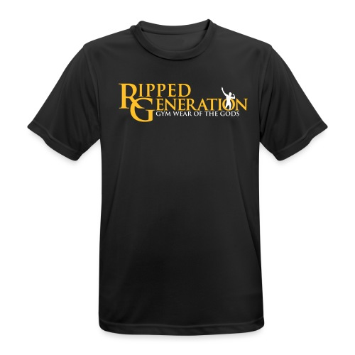Ripped Generation Tekstilogo Kulta - miesten tekninen t-paita
