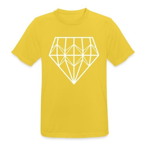 Diamond - miesten tekninen t-paita