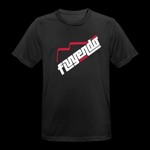 fluyendo logo - Men's Breathable T-Shirt