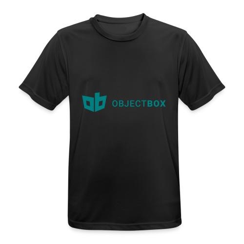 ObjectBox Green - Männer T-Shirt atmungsaktiv