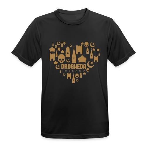 Drogheda Black - Men's Breathable T-Shirt