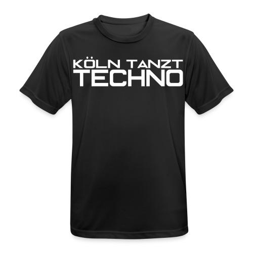 KÖLN TANZT TECHNO - Männer T-Shirt atmungsaktiv