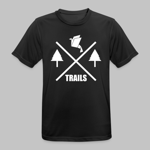 SPORT Classic Logo Big X-Trails - Männer T-Shirt atmungsaktiv