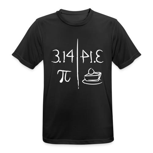 pi vs pie - Men's Breathable T-Shirt