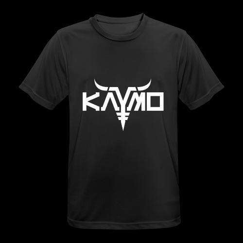 KayMo Logo - Pustende T-skjorte for menn