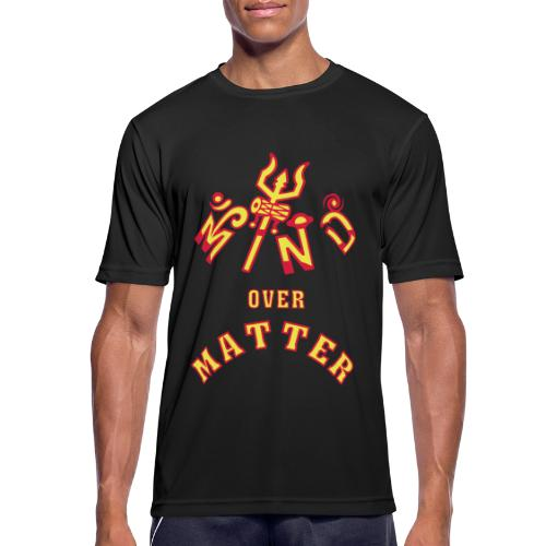 Mind over Matter - Herre T-shirt svedtransporterende
