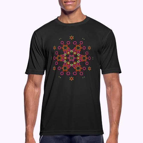 Mandala Nube - Camiseta hombre transpirable