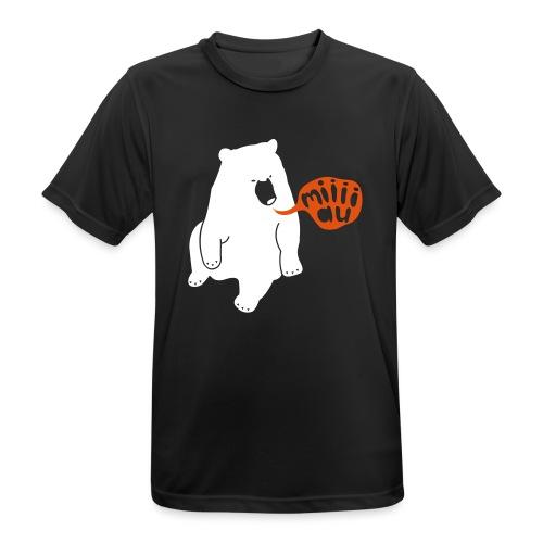 Bär sagt Miau - Männer T-Shirt atmungsaktiv