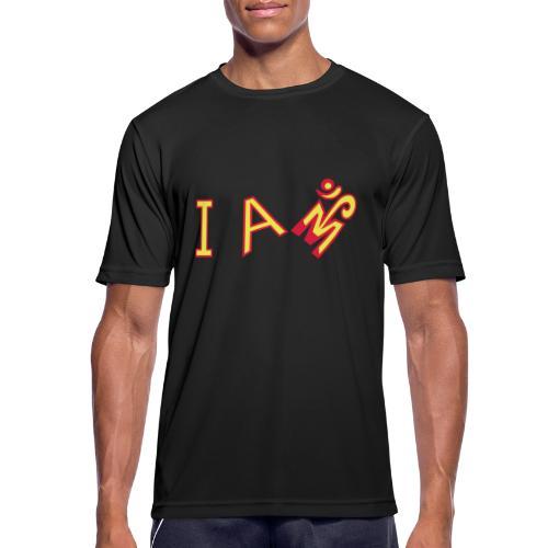 Jeg er Om - Herre T-shirt svedtransporterende