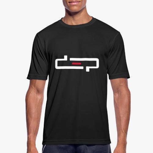 deplogo1neg red - Pustende T-skjorte for menn