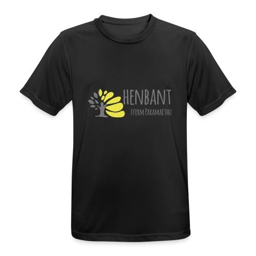 henbant logo - Men's Breathable T-Shirt