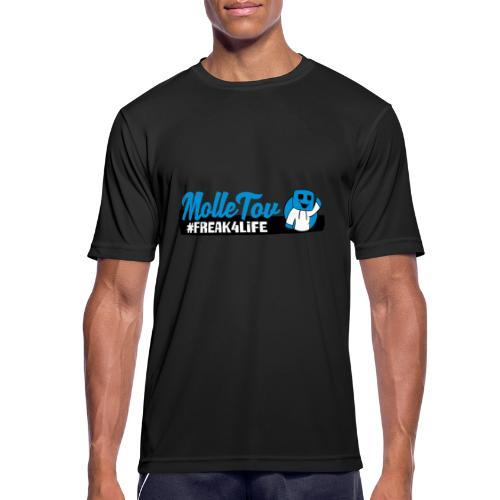 Nyt Logo4 - Herre T-shirt svedtransporterende