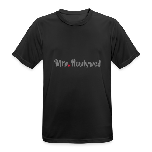 Mrs Newlywed - Men's Breathable T-Shirt