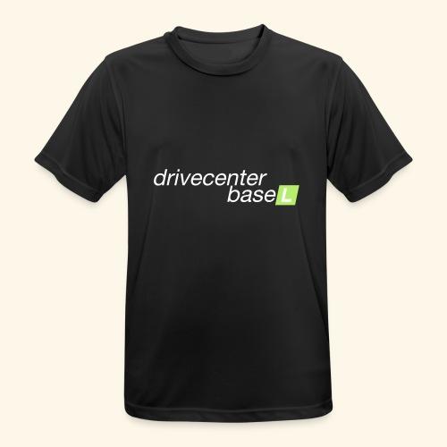 drive center logo - Männer T-Shirt atmungsaktiv
