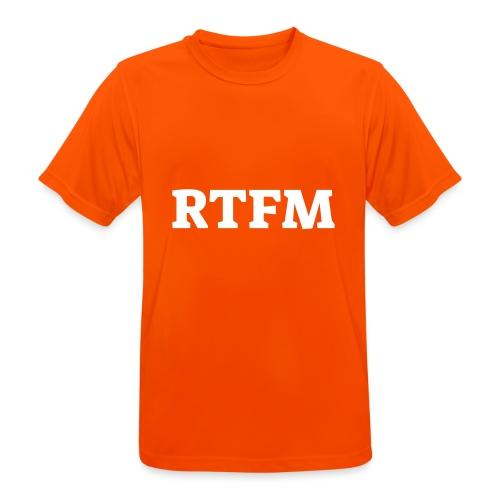 RTFM - Herre T-shirt svedtransporterende