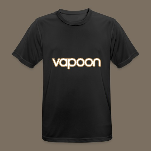Vapoon Logo simpel 2 Farb - Männer T-Shirt atmungsaktiv