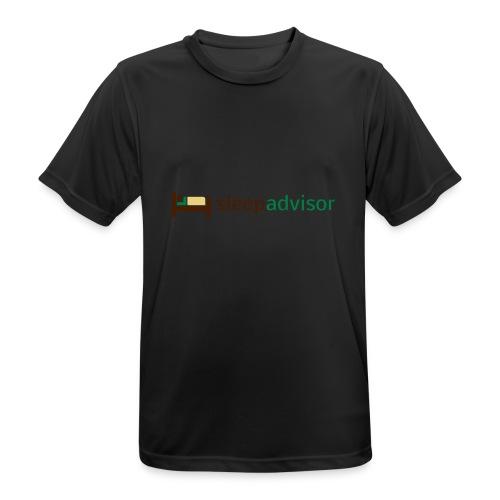 SleepAdvisor - Maglietta da uomo traspirante