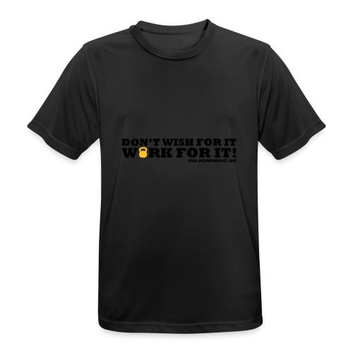 workforitsmal - Andningsaktiv T-shirt herr