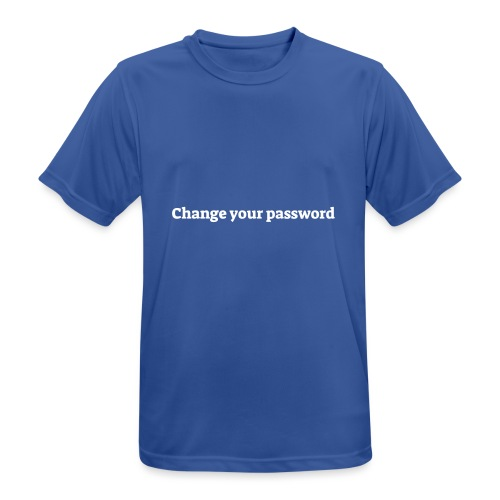 Change your password - Herre T-shirt svedtransporterende