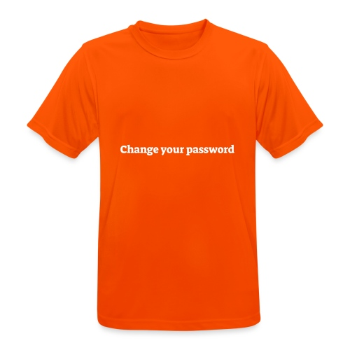 Change your password - Herre T-shirt svedtransporterende