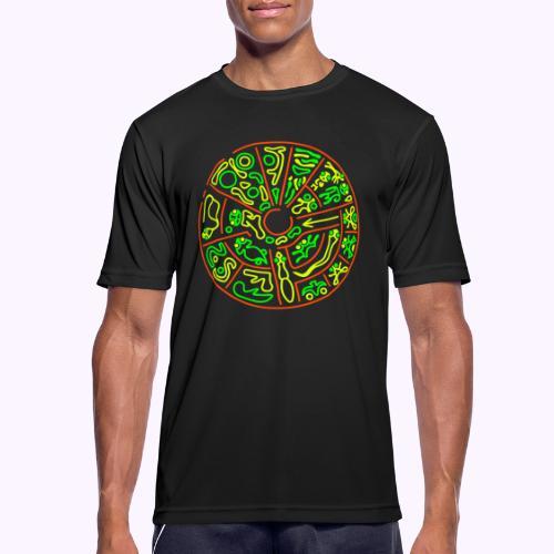 Disco Genetico - Camiseta hombre transpirable