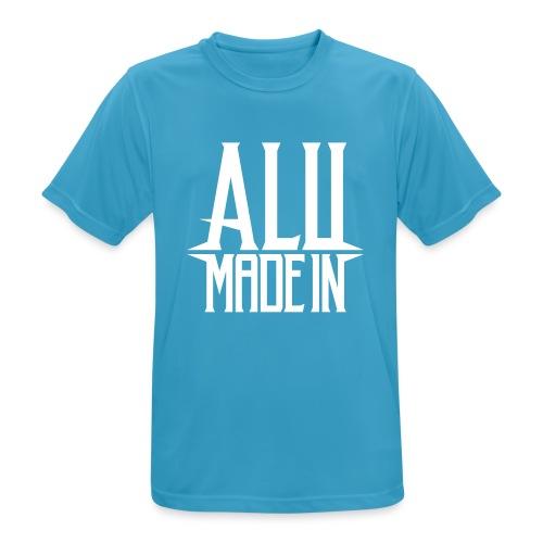 logo_alumadein_vecto_blan - T-shirt respirant Homme