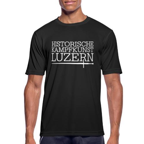 Dreiseitig - Männer T-Shirt atmungsaktiv