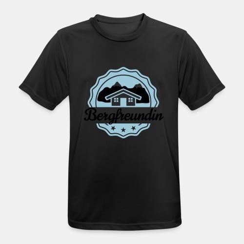 Bergfreundin - Männer T-Shirt atmungsaktiv