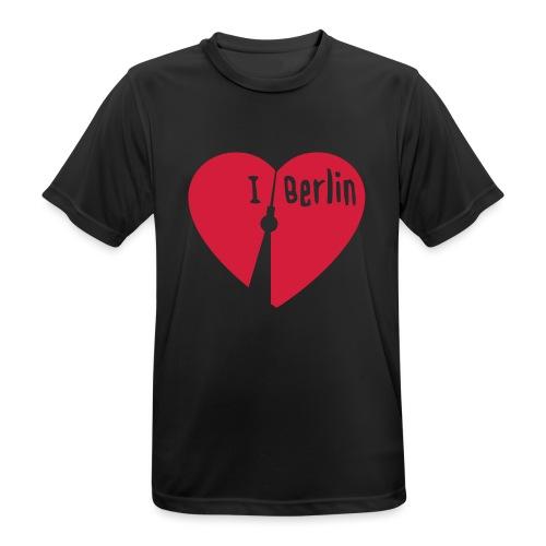 I love Berlin (1-farbig) - Männer T-Shirt atmungsaktiv
